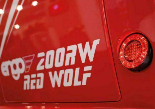 Ismaskin - Engo Red Wolf LX