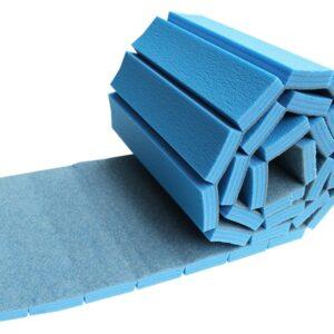 Rollable gymnastick tracks